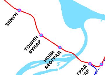 Linije BG voza